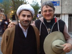 Mansour Leghaei and Father Dave